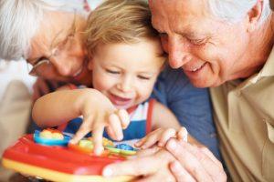 Grandparentage test